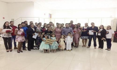No dia 07 de Abril de 2018 o Projeto Ribeirinho Cidadão encerrou seus trabalhos com um lindo Casamento Comunitário, realizado no Município de Barão de Melgaço – MT.