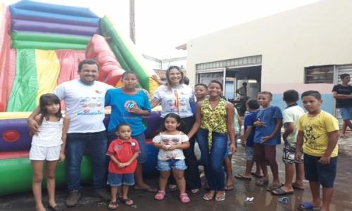 A Prefeitura de Barão de Melgaço, por meio da Secretaria Municipal de Assistência Social realizou no último sábado 13 de Outubro de 2018 a Comemoração ao Dia das Crianças