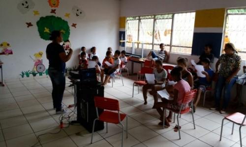No dia 17 de Abril de 2018 foi realizado o Serviço de Convivência e Fortalecimento de Vínculo – SCFV com as Crianças da Vila Recreio
